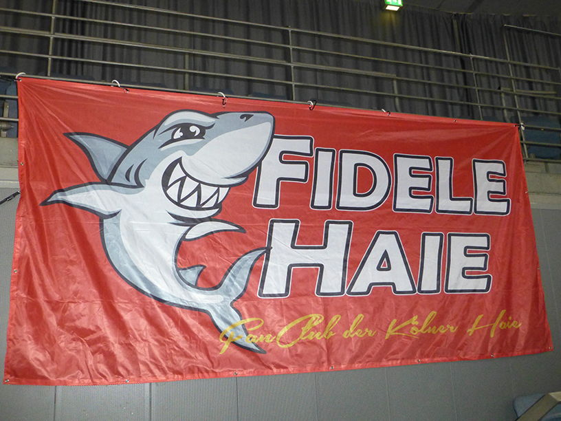 Fahne Fidele Haie